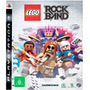 Kit Games Ps3 - Lego Game Rockband & Back To The Future