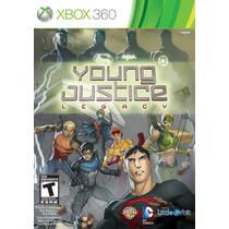 Young Justice Legancy - Xbox 360 - Jovem Liga Da Justica