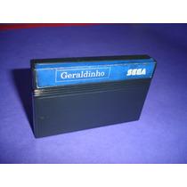 Master System : Cartucho Geraldinho Original Tec Toy