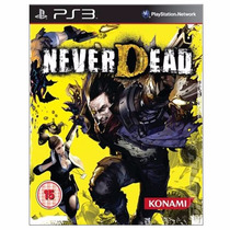 Ps3 - Never Dead - Míd Fís - Lacrado - Original