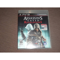 Assassins Creed Revelations (jogo Original Ps3 Mídia Fisica)