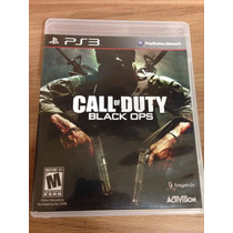 Call Of Duty Black Ops Para Ps3 Novo E Lacrado