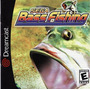 Cd Dreamcast-bass Fishing-importado-em Otimo Estado