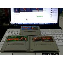 Cartucho Fita Dk 1, 2, 3 Super Famicom Snes Super Nintendo