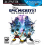 Disney Epic Mickey 2 The Power Of Two Ps3 Original Lacrado