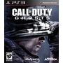 Jogo Game Ps3 Call Of Duty Ghosts - Mídia Física Impecável