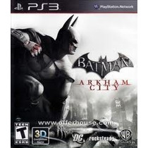 Lajeado - Rs Batman Arkham City Ps3 Pronta Entrega