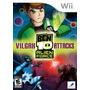 Jogo Novo Ben 10 Alien Force Vilgax Attacks Para Wii