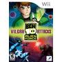 Jogo Novo Ben 10 Alien Force Vilgax Attacks Para Wii