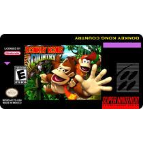 Label Para Cartucho De Super Nintendo Snes