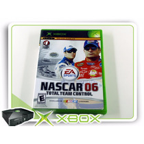 Xbox Nascar 06 Total Team Control Origin. Xbox Clássico Ntsc