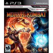 Mortal Kombat + Darksiders Ps3 - Playstation 3 - 2 Jogos