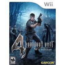 Resident Evil 4 Wii Edition Jogo Nintendo Wii E Wii U Zumbi