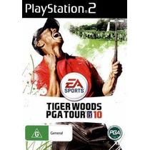 Jogo Ps2 - Tiger Woods Pga Tour 10