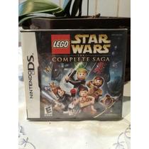 Game Nintendo Dsi Lego Stars Wars Novo Lacrado Retira Em Mao