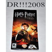 Manual Do Game Harry Potter P/ Psp!!!