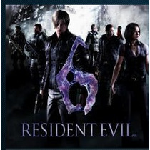 Resident Evil 6 Ps3 Jogos Codigo Psn