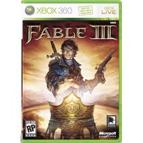 Fable Ill Jogo Xbox360 Original, Seminovo, Nunca Usado - Top