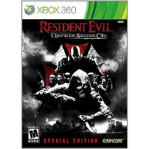 Resident Evil Operation Ranccoon City Special Edition 360
