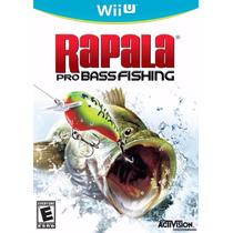 Rapala Pro Bass Fishing Wiiu Wii U - Lacrado/frete Grátis !!