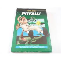Cartucho Intellivision - Pitfall - Completo - Original,veja!
