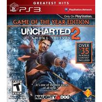 Uncharted 2 Game Of The Year- Ps3 - Lacrado - Pronta Entrega