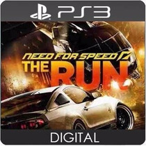 Need For Speed The Run Ps3 Cod Psn Play 3 Jogue Hoje