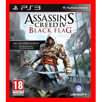 Assassins Creed 4 Black Flag - Ac4 - Dublado Em Pt-br - Ps3