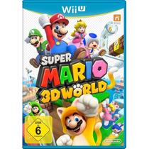 Super Mario 3d Worlds Wii U Lacrado Pronta Entrega