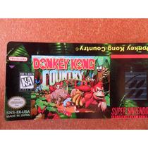 Labels - Donkey Kong Country - S-nes (tenho Vários Outros)