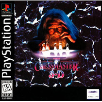 Jogo Original The Chessmaster 3d - Playstation 1