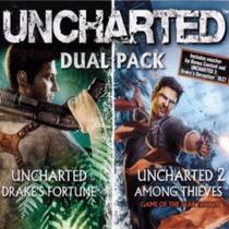 Uncharted Dual Pack 1 + 2 Português Espanhol # Ps3+ Garantia