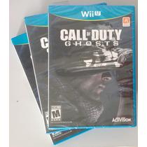 Call Of Duty Ghosts Wii U - Nintendo Wiiu - Lacrado