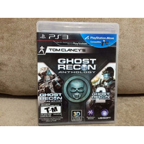Jogo / Game Ps3 - Tom Clancys Ghost Recon Anthology
