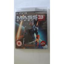 Jogo Mass Effect 3 Para Ps3 (black Label) - Novo E Lacrado
