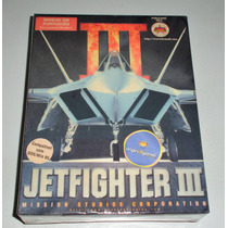 Jetfighter 3 Caixa   Combate Aéreo   Jogo Pc   Original