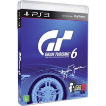 Gran Turismo 6 Português Gt 6 Ps3 Blu-ray Game Original Cd