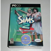 The Sims 2 Vida De Universitário Caixa | Pc | Original