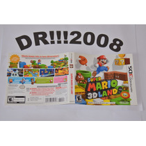 Encarte Super Mario 3d Land Original P/ Nintendo 3ds!!!