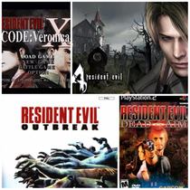 Patche Kit Combo 4games Resident Evil (gameplay2)