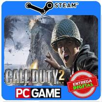 Call Of Duty 2 Pc Steam Cd-key Cod2 Envio Imediato