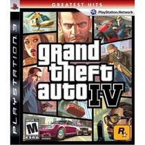 Jogo Semi Novo Grand Theft Auto Iv Gta 4 Playstation 3 Ps3