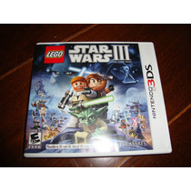 Lego Star Wars Iii - Clone Wars Completo Para 3ds