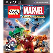 Lego Marvel Super Heroes Ps3 Português - Frete + 12x S/juros