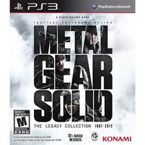 Metal Gear Solid The Legacy Collection Original Ps3 Lacrado