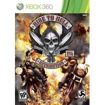 Ride To Hell Retribution Xbox 360 Jogo Novo Original Lacrado