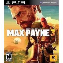 Max Payne 3 Playstation 3 Original Lacrado