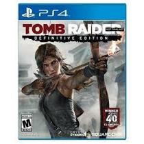 Tomb Raider Definitive Edition Ps4 Português. Midia Digital