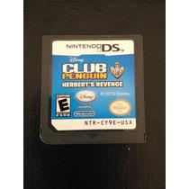 Jogo Game Para Nintendo Ds - Club Penguin Herberts Revenge