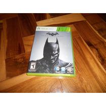Batman Arkham Origins Xbox 360 - Usado - Ótimo Estado
